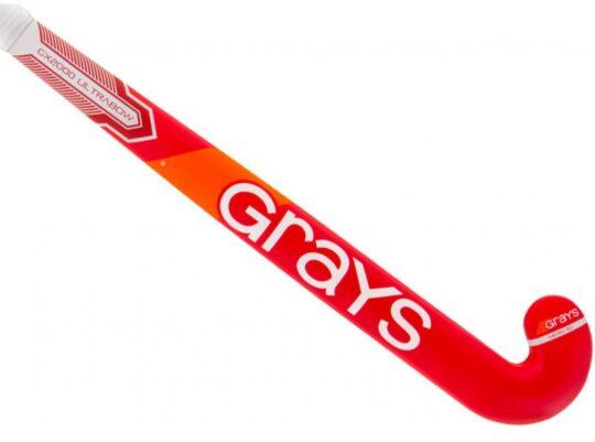 Grays GX 2000 Ultrabow recht 22mm (roze)