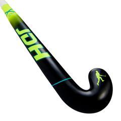 JDH X1 20% carbon Hockeystick lowbow Geel '18