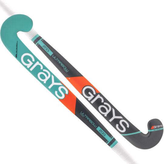 Grays zaalhockeystick 200i BR green/fluor groen