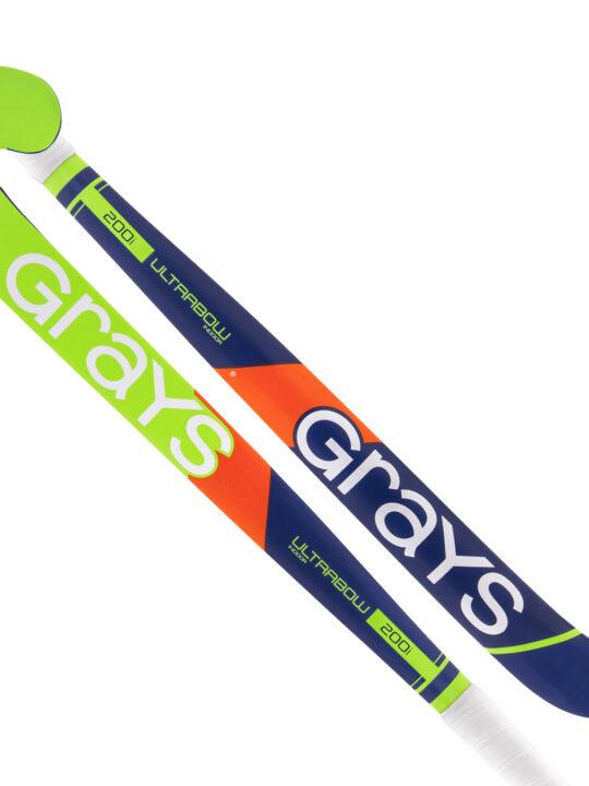 Grays zaalhockeystick 200i blauw/geel
