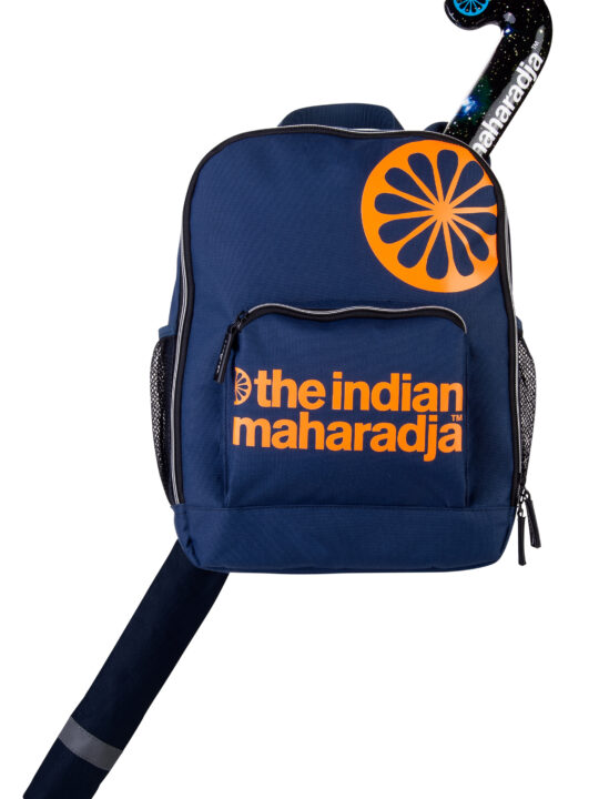 Indian Maharadja Rugzak kids NAVY ORANGE