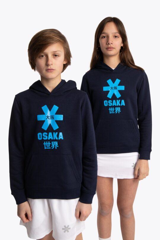 Osaka hoodie kids Blauw/groen